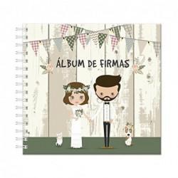 """ALBUM DE FIRMAS """"NOVIOS""""..."""