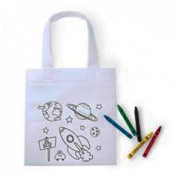 Bolsa para colorear Space (...