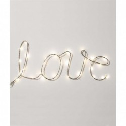 Cable luces LED Love Para...