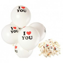 "Set 100 Globos I LOVE YOU""""..."