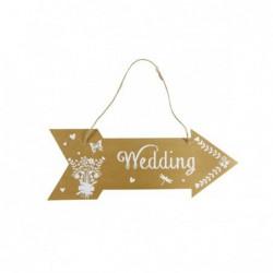 CARTEL FLECHA WEDDING,...